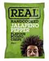Real Crisps - Jalapeno Pepper