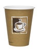 12oz Hot Cup Benders Caffe Design (1260)