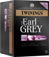 Twinings Earl Grey Enveloped Tea Bags (1x50)