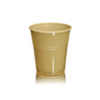 7oz Squat Mocha Plastic Vending Cups (2000) - Special Offer